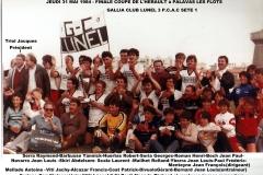 coupe de l\'Hérault 1984
