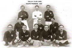 Equipe première 1920