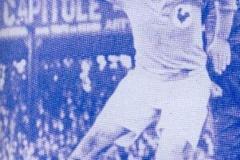 Fernand Brunel sous le maillot bleu
