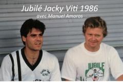 Jubilé Jacky Viti 1986 avec Manuel Amoros