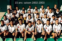 15 ans 2002/2003